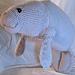 Manatee Amigurumi Stuffed Toy pattern