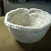 Double Knit Bowl with a Moebius Twist pattern