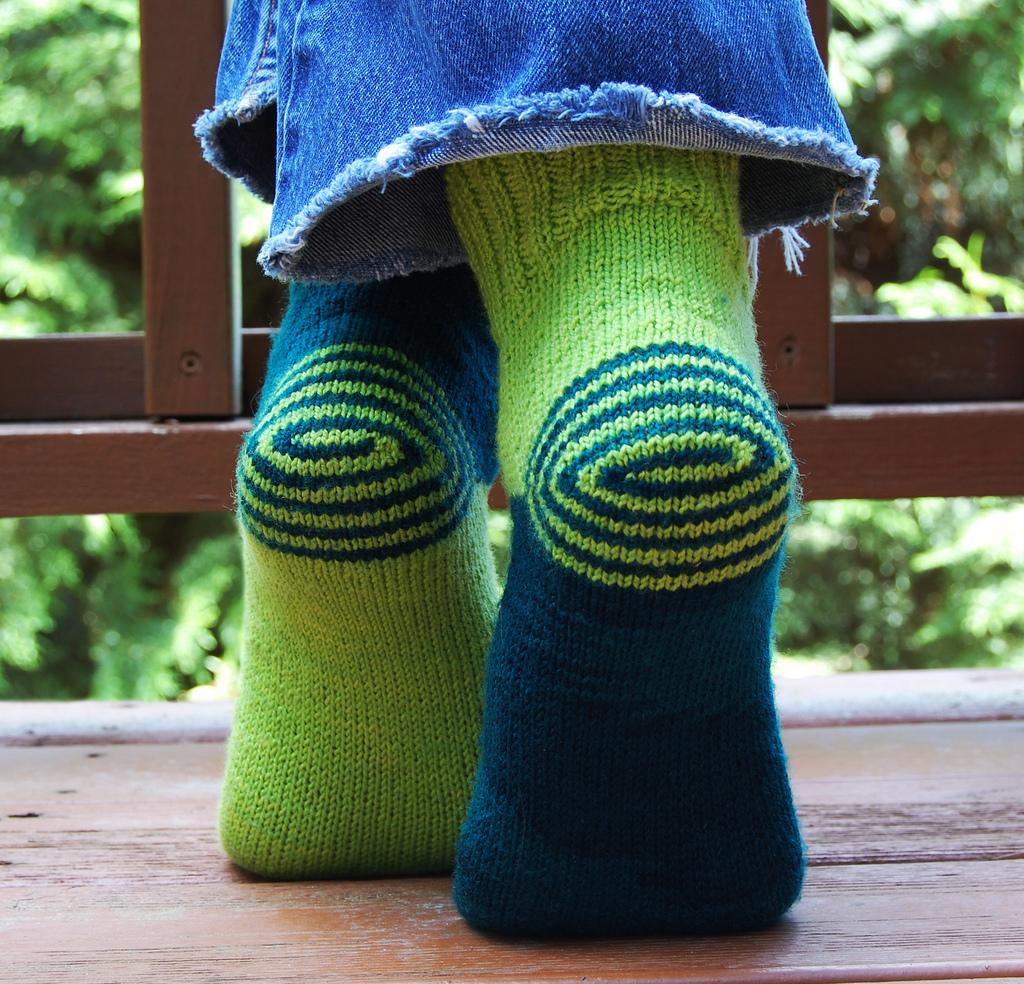 Double Heelix di Jeny Staiman - foto originale su ravelry