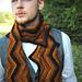 Creekbed scarf pattern
