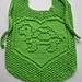 Turtle Love Bib pattern