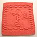 Baby Seahorse Cloth pattern