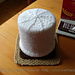 S'mores toilet paper roll cover, knit pattern