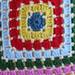 Mosaic granny pattern