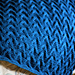 Sand Cable Baby Blanket pattern