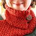 Luxurious Loom-Knit Neckwarmer pattern