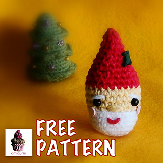 Christmas ragdoll Mrs. Santa Claus crochet free pattern ... | 319x320