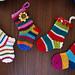 Little Christmas socks pattern