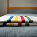 Hudson's Bay Inspired Crib Blanket pattern