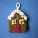 Advent Garland 3, House pattern