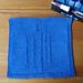 DW Logo Washcloth pattern
