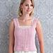 Giselle vest pattern