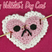 My Bloody Valentine's Day Card pattern