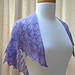 Lilac Leaves Shawl pattern