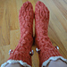 Carnivorous Socks pattern