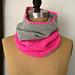 Two-Tone Crochet Cowl pattern