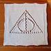 Deathly Hallows Washcloth pattern