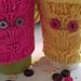 Owl Coffee Cozy pattern