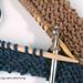 Two Hooked Seams: Using a Crochet Hook pattern