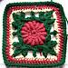 Irish Ivy Rose pattern
