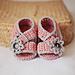 Diagonal Strap Sandals pattern