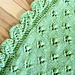 Green Leaves Baby Blanket pattern