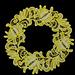 Flower wreath  rpl pattern