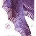 Cassis shawlette pattern