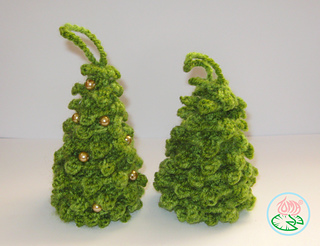 Amigurumi Christmas Tree Ornaments
