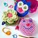 Covered Tape Measures (Owl, Pig & Flower) pattern