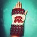 Rock the Vote Fingerless Gloves - Republican pattern