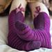 Catherine Bed Socks pattern