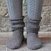 Snow Day socks pattern