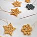 let it snow, snowflake ornaments pattern