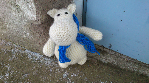 Moomin free Amigurumi pattern | The Sun and the Turtle | 281x500