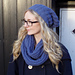 Blue Scarf and Hat pattern