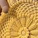Lille Matelassé Circular Baby Afghan pattern