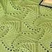 Clichy Matelassé Afghan pattern