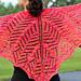 Papaya Shawlette pattern