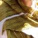 Ginkgo Stole pattern