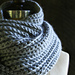 Crocheted Rib Cowl pattern