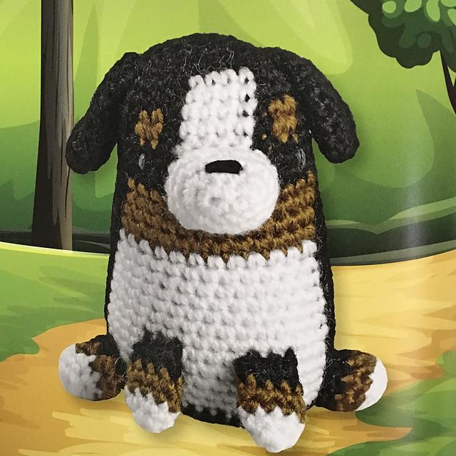 PDF AmiDogs Bernese Mountain Dog amigurumi dog CROCHET PATTERN | Etsy | 640x640