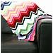 Baby Missoni Inspired Chevron Blanket pattern