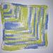 Tunisian Mitered Dishcloth pattern