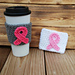Breast Cancer Awareness Cup Cozy pattern
