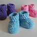 Newborn Baby Booties pattern