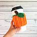 Pumpkin Patch Cup Cozy pattern