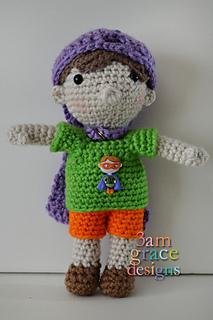 Ravelry: Amigurumi Doll 'Pia' pattern by Crochet Cute Dolls | 320x213