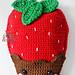 Strawberry Kawaii Cuddler® pattern