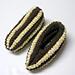 Pantoufles épis de maïs pattern
